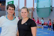 Jasmin u Sylvia Langen Trainerinnen Turnen