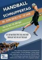 Weiter lesen   Schnuppertag TV Handball