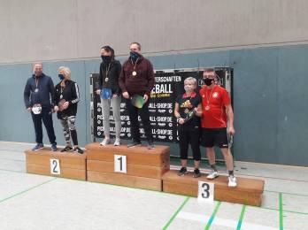 Medaillenregen bei 1. Deutschen Pickleball-Meisterschaft