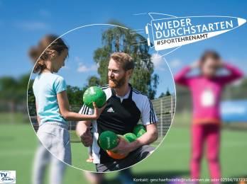 Kids für die Handballabteilung